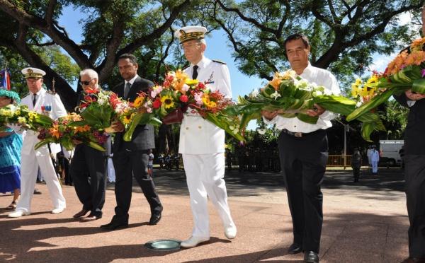 CÉRÉMONIE DU 11 NOVEMBRE 2010 a Papeete