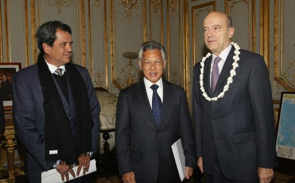 Gaston Tong Sang rencontre Alain Juppé: « LA POLYNESIE, DANS SA TOTALITE, A SOUFFERT PSYCHOLOGIQUEMENT DES ESSAIS »