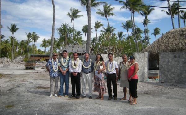 Renaissance du Comité du tourisme de Rangiroa : le Ministre du tourisme à la rencontre des professionnels