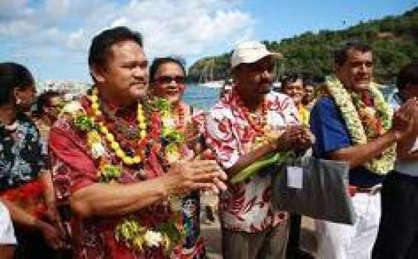 Festival des arts des îles Marquises à Nuku Hiva