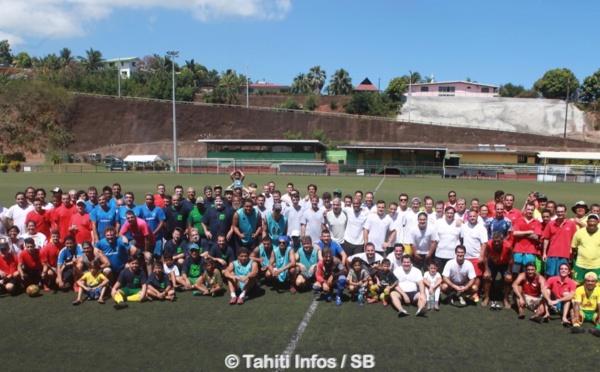 Football - Tournoi Inter-restau : Pascal Vahirua parraine un tournoi amical