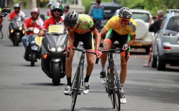 Cyclisme - Tour Tahiti 2018 #3 : Taruia Krainer garde le maillot jaune