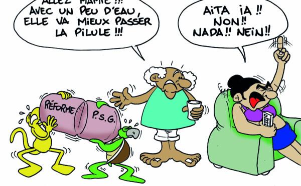"""""""La pilule de la PSG """" vu par Munoz"""