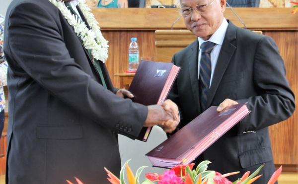 L'assemblée et le parlement du Vanuatu désormais partenaires