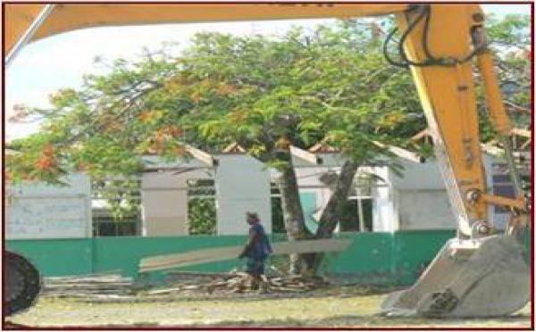 Noël : Une nouvelle école à Teavaro