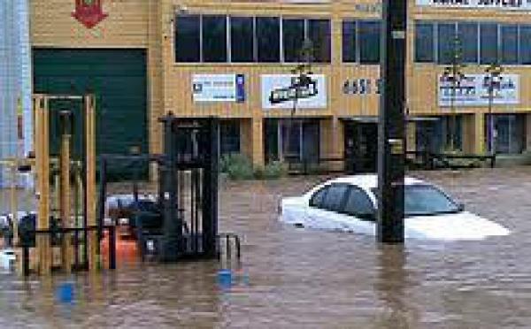 Australie: inondations dans l'est, des centaines de personnes évacuées