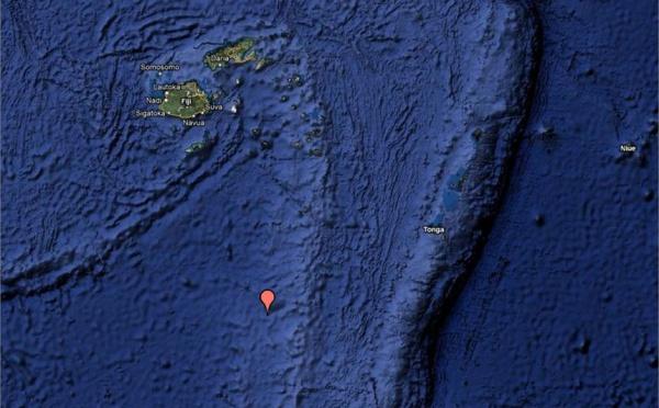 Séisme de magnitude 6,3 entre Fidji et Tonga