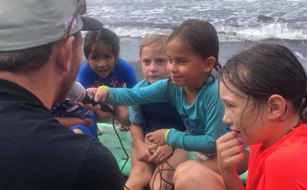 Kid reporters : les enfants tendent le micro