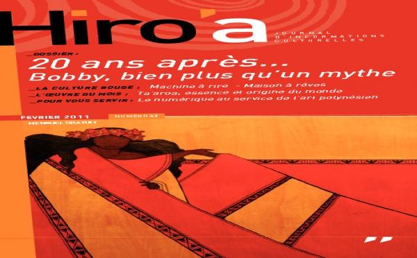 Le 41ème Hiro'a vient de paraître