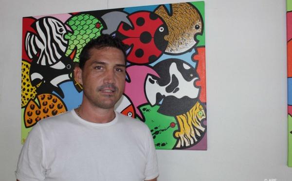 Exposition de tableaux de Christophe RICARD à l'assemblée