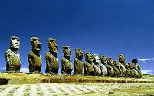 Chili: variations d'un demi-mètre du niveau de la mer sur l'île de Pâques