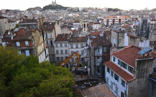 À Marseille, après le drame, des dizaines d'immeubles devenus fantômes