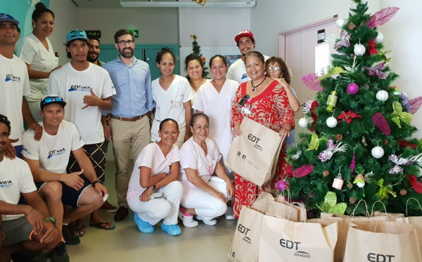 Noël du coeur: EDT à la rencontre des enfants hospitalisés
