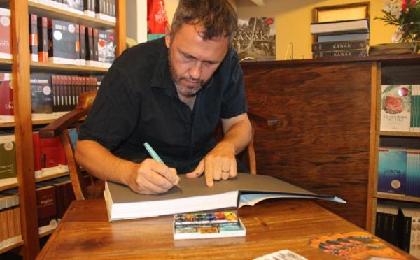 Sébastien Lebègue revient chez Au Vent des îles avec Coutume kanak