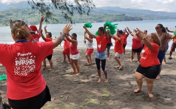 Aroa Games : 140 adultes de Papeete ont sporté à Mahina