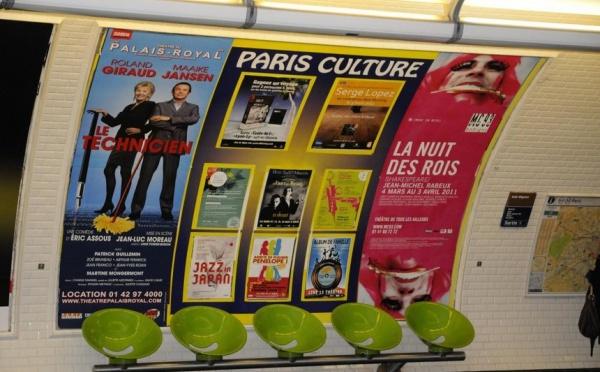 Un vent des îles souffle sur les murs du métro parisien