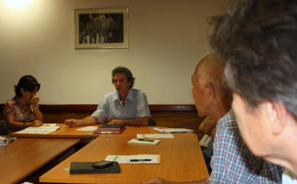 Rencontre avec les fédérations d'associations de protection de l'environnement