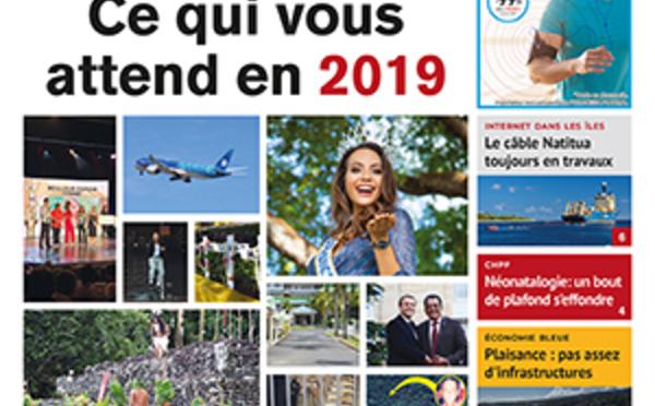 TAHITI INFOS N° 1318 du 7 janvier 2019