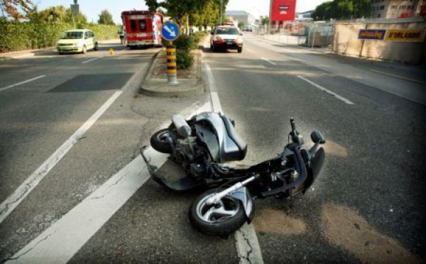 Un jeune homme décède des suites d'un accident de scooter