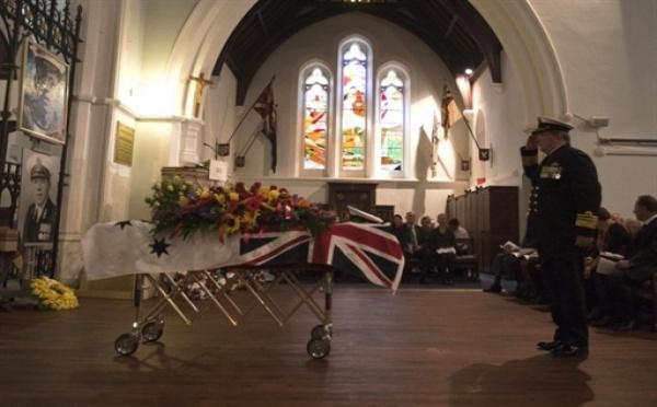Funérailles en Australie du dernier vétéran connu de la Première Guerre Mondiale