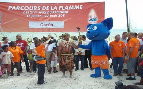 Ouvéa : première étape du parcours de la flamme des Jeux