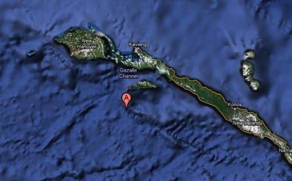 Séisme de magnitude 6,2 en Papouasie-Nouvelle-Guinée