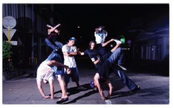 "Hip-Hop:  ""Yes we dance"", le 20 août 2011 sur la place Vaiete."