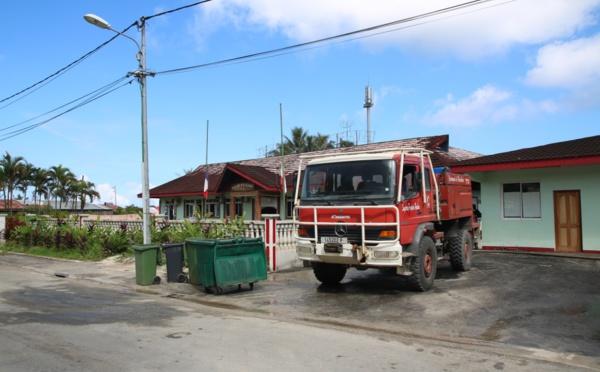 Huahine : les services communaux se remettent en place