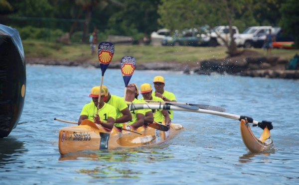 Va'a V6 - Marathon Polynésie la 1ère : Belle victoire de Shell Va'a