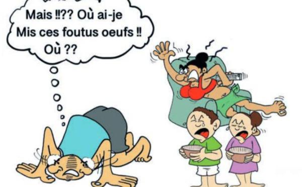 """"""" La chasse aux oeufs """" par Munoz"""