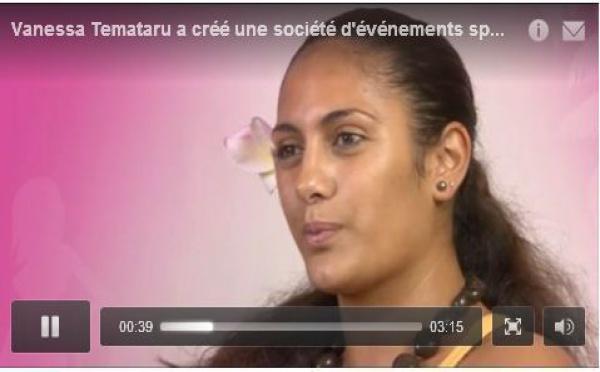 """Forum """"je crée mon emploi"""": Vanessa Temataru lance une société d'événements sportifs"""