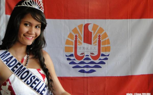 """Mehiti Ma est la 1ère """"Mademoiselle Tahiti"""""""