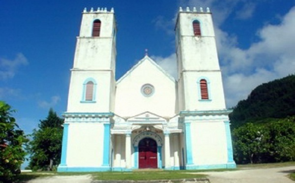 Inauguration de la Cathédrale de Rikitea le 3 décembre