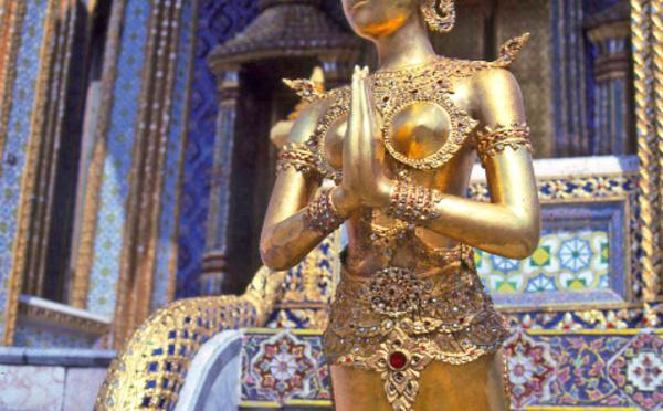 Carnet de voyage - Wat Phra Kaeo écrin d'or du Bouddha d'émeraude