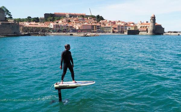 """Surf électrique volant, une innovation """"made in"""" Pyrénées-Orientales"""