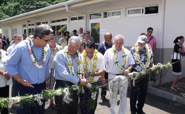 Inauguration du centre technique aquacoleVaia