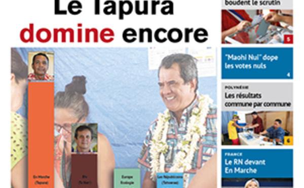 TAHITI INFOS N° 1413 du 27 mai 2019