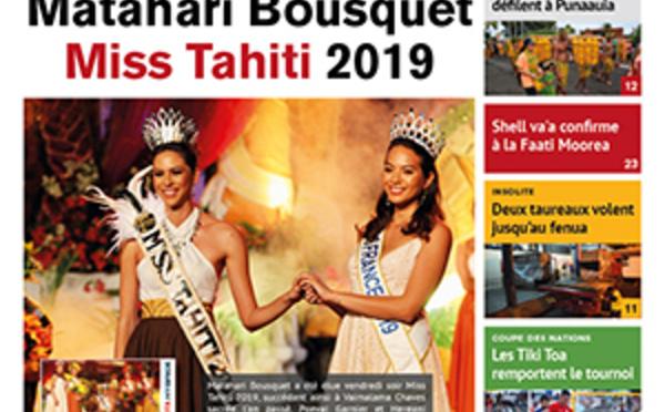 TAHITI INFOS N° 1431 du 24 juin 2019