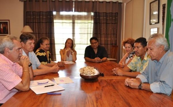 CESC: Visite de courtoisie du Président Jean TAMA au Haut-commissaire