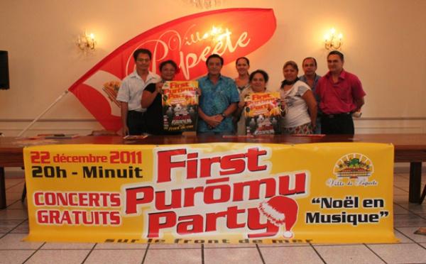 First Puromu Party : La ville de Papeete fête Noël en musique