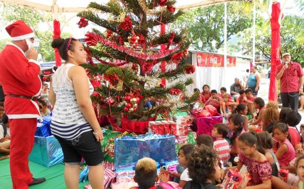 Noël au village de la place Toa'ta
