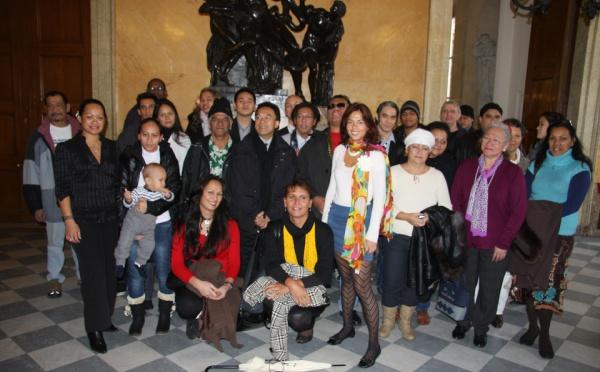 Une délégation de polynésiens à l'Assemblée Nationale