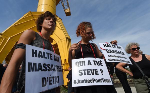 Steve: un samedi d'hommages et de manifestations, incidents à Nantes