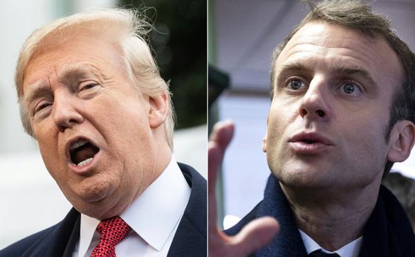 Trump reproche à Macron de parler à l'Iran au nom des Etats-Unis