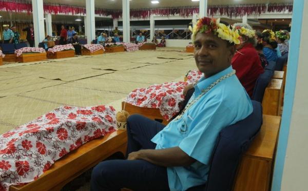 Tearii Alpha au Forum des îles du Pacifique
