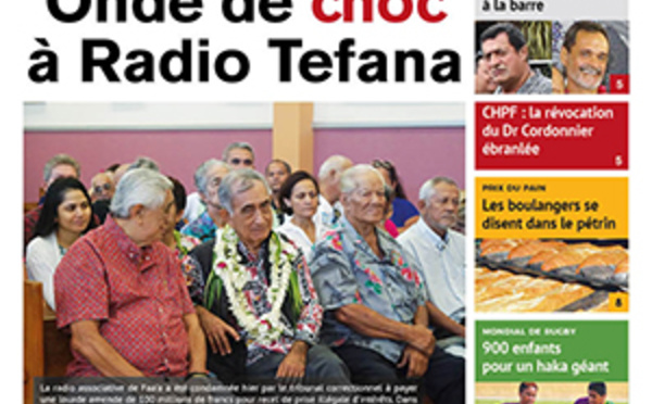 TAHITI INFOS N°1485 du 11 septembre 2019