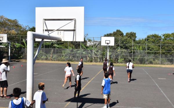 L'intégration par le sport au collège de Punaauia