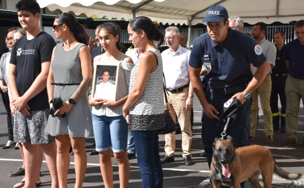 La DSP rend hommage à Loïc Ly Sao
