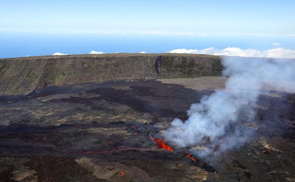 La Réunion: le Piton de la Fournaise ne montre plus de signes d'activité éruptive