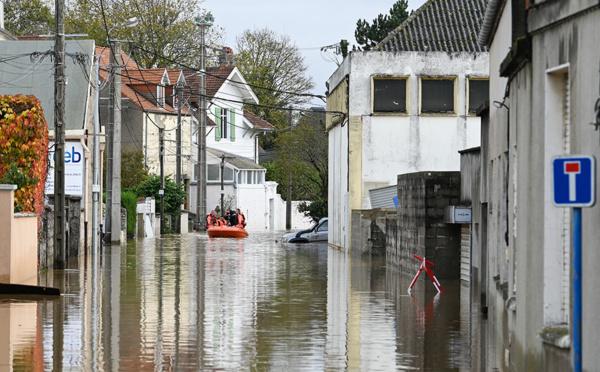 """""""L'eau est montée très haut, très vite"""" : le Pas-de-Calais surpris par des crues soudaines"""